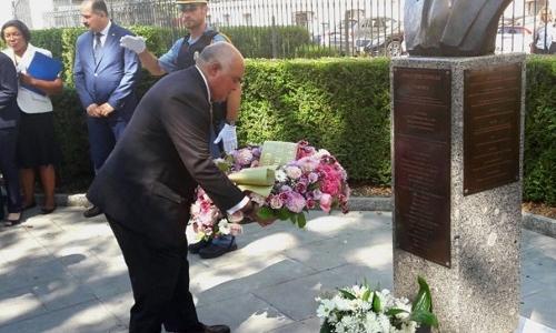 السيد الممثل الدائم يشارك في الذكرى السنوية الخامسة عشر للهجوم الإرهابي على مقر الأمم المتحدة في بغداد في 19/8/2003